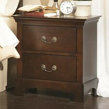 Tiffany 2 Drawer Nightstand