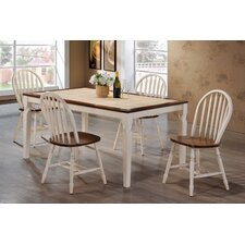 5 Piece Tile Top Dining Set