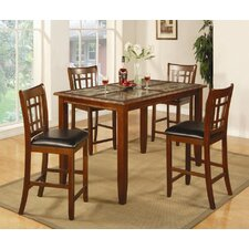 Cherryfield 5 Piece Counter Height Pub Set