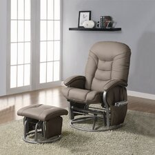 Vanceboro Recliner and Ottoman