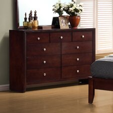 Detroit 9 Drawer Dresser