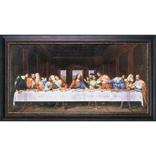 'Last Supper' Framed Original Painting on Canvas