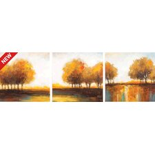 Central Park 3 Piece Painting Print Set