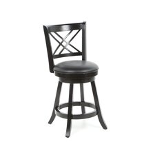 "Jackman 24"" Swivel Bar Stool (Set of 2)"