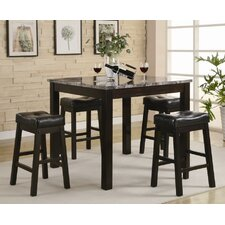 Beddington 5 Piece Counter Height Pub Set