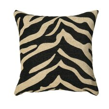 Zebra Stripe Accent Pillow