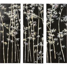 Bamboo Bliss 3 Piece Painting Print Set