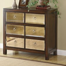 2 Door 1 Drawer Accent Cabinet