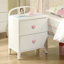 Romeo 2 Drawer Nightstand