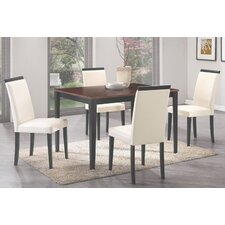 Peter 5 Piece Dining Set