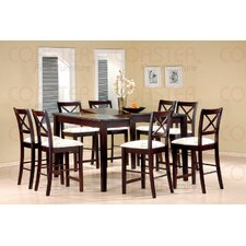 Kremmling 9 Piece Counter Height Dining Set