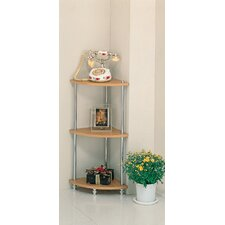 Pima Tiered Corner Shelf