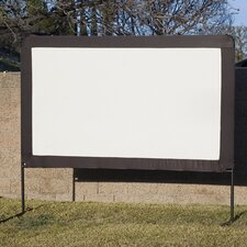 "Dynawhite 100"" Diagonal Portable Projection Screen"