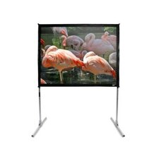 "CineWhite 168"" Overall Width QuickStand Folding Screen - 120"" Diagonal"