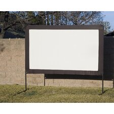 <strong>Elite Screens</strong> Outdoor Floor Set Folding Frame Projection Screen