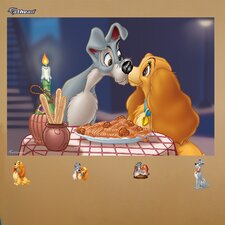 <strong>Fathead</strong> Disney Lady & the Tramp Wall Mural