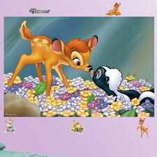 Disney Bambi & Flower the Skunk Wall Mural