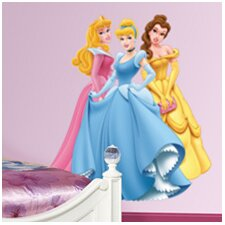 Aurora, Cinderella & Belle Wall Decal