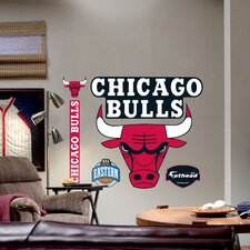 NBA Logo Wall Graphic