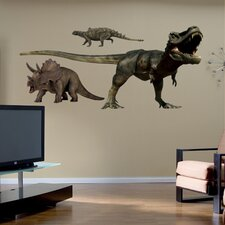 <strong>Fathead</strong> Dinosaurs Group Two Wall Graphic