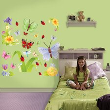 Butterflies Group Two Wall Decal