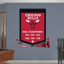 NBA Championships Banner Wall Graphic