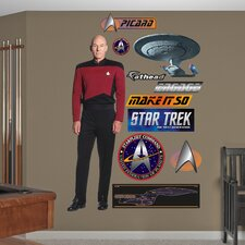 Star Trek Captain Jean-Luc Picard Wall Graphic