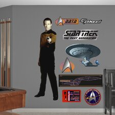<strong>Fathead</strong> Star Trek Lieutenant Commander Data Wall Decal