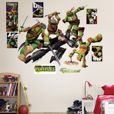 Teenage Mutant Ninja Turtles Shredder Battle Wall Decal
