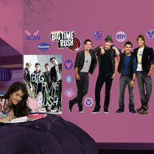 <strong>Fathead</strong> Big Time Rush Wall Decal
