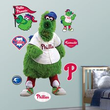 MLB Philadelphia Phillies Phillie Phanatic Mascot Wall Graphic
