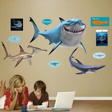 Disney Finding Nemo Sharks Wall Graphic