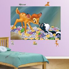 Disney Bambi and Flower the Skunk Wall Mural