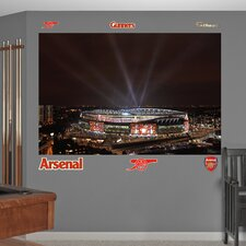Arsenal Night Sky Stadium Wall Mural