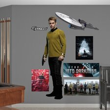 Star Trek Into Darkness James T. Kirk Wall Decal