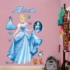 <strong>Fathead</strong> Disney Cinderella From Rags to Riches Wall Decal