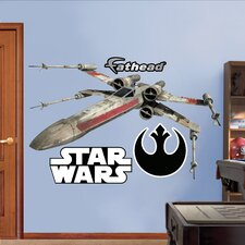 Star Wars X Wing Fighter Wall Graphic