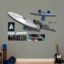 Star Trek Into Darkness Enterprise Wall Graphic