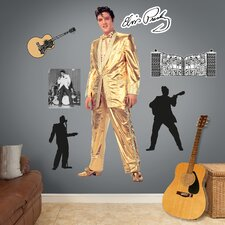 Elvis Presley Gold Lame Suit Wall Graphic