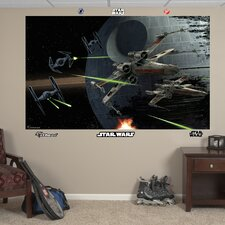 Star Wars Space Battle Wall Mural