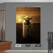 <strong>Fathead</strong> Star Wars Yoda Jedi Knights Wall Mural