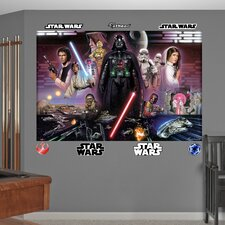 <strong>Fathead</strong> Star Wars Legacy Illustrated Wall Mural