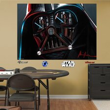 Star Wars Vader Illustration Wall Mural