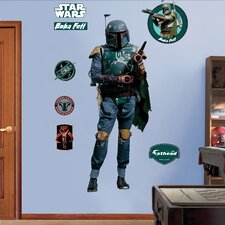 <strong>Fathead</strong> Star Wars Boba Fett Wall Decal