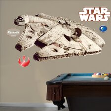 Star Wars Millenium Falcon Wall Decal