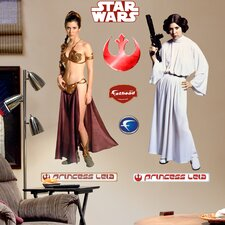 Star Wars Princess Leia Wall Graphic