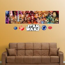 <strong>Fathead</strong> Star Wars Movie Wall Mural