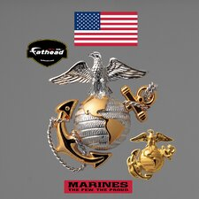 <strong>Fathead</strong> Military USMC Globe & Anchor Wall Decal