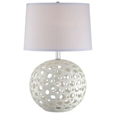 Finnian Table Lamp in White