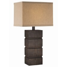 "Blog 27.5"" H Table Lamp with Rectangle Shade"